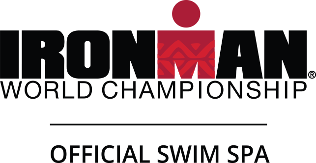 Official Swim Spa of IRONMAN World Championship logo