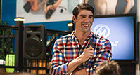 Michael Phelps at Master Spas