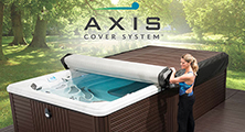 New rolling swim spa cover Axis